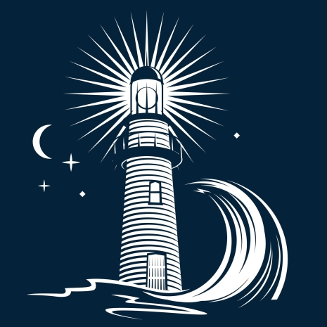 17271970 - lighthouse and wave