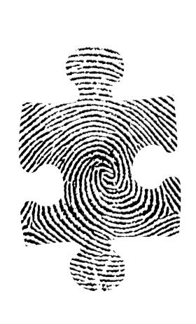 21827324 - puzzle fingerprint