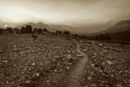 48973744 - landscape in the sierra nevada mountains